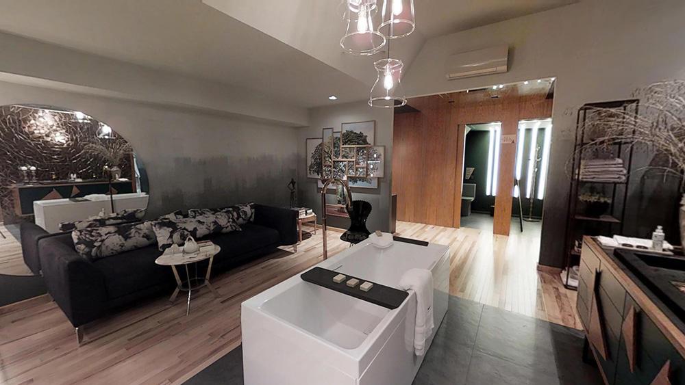 Tour Virtual 3D - Paula Leme & Luciana Bicheri Lounge Da Sala De Banho