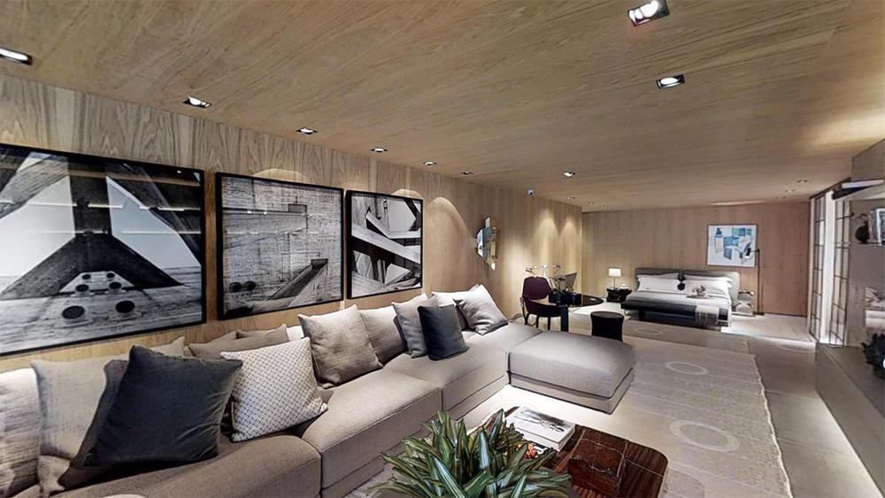 Tour Virtual 3D - CASACOR - Studio 011 Arquitetura Barbara Gomes e Giulliana Savioli Loft SP