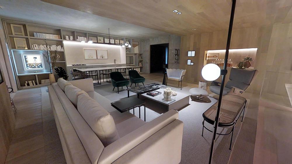 Tour Virtual 3D - CASACOR - Suite Arquitetos Carolina Mauro, Daniela Frugiuele e Felipe Troncon Loft Romanov