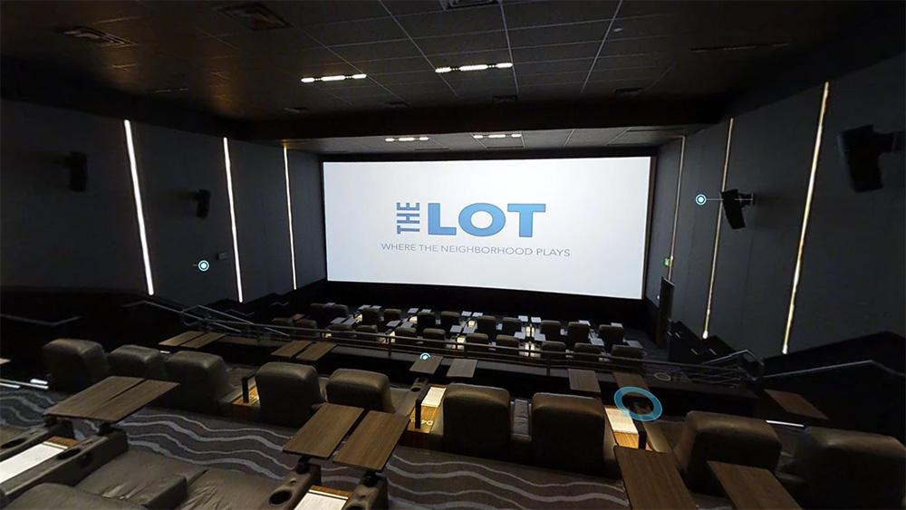 Tour Virtual 3D - THE LOT Restaurant & Cinema